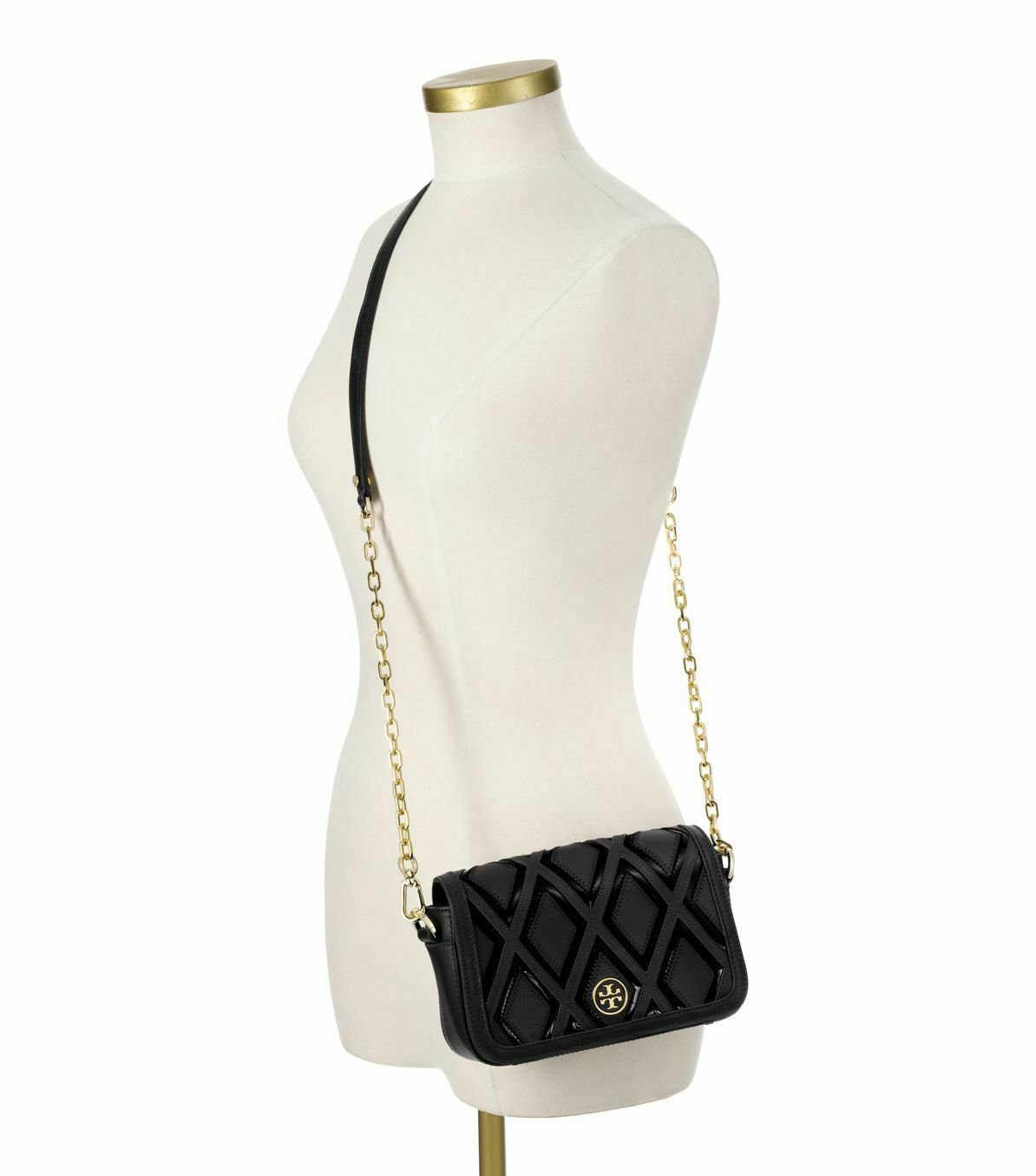 NWT Tory Burch Robinson Patchwork Chain Bag $435