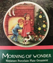 Morning if wonder 1989 Hallmark Ornament 3rd in collector plate series - $5.50