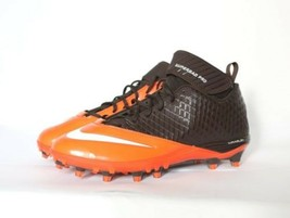 NIKE Superbad Pro Lunarlon Orange Brown Football Cleats Men's 14 +FREE P... - $12.17