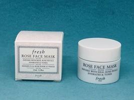 FRESH Rose Face Mask .5oz/ 15ml Deluxe Travel Size NEW Boxed - $156,30 MXN