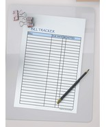 Printable BILL Tracker, day, month, and year bill, INSTANT DOWNLOAD 2020 - $0.90