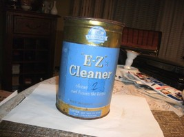 14#H   Vintage 3 pound CAN Stanhome E Z Cleaner LARGE weighs 2lb. 15.4 o... - $39.59