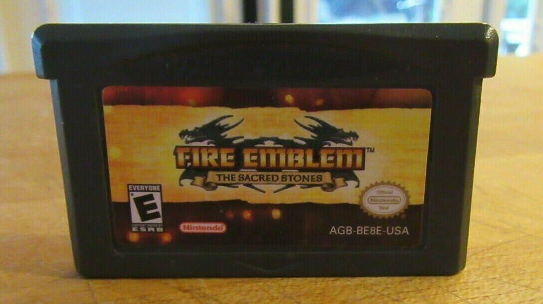 Fire Emblem: The Sacred Stones (Nintendo Game Boy Advance, 2005) image 5