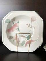 4 Mikasa Continental Silk Flowers Soup or Salad Bowls F3003 Vintage Pink dishes  - $15.90