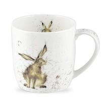 Royal Worcester Wrendale Designs Mug - Good Hare Day, 11 oz - $16.73