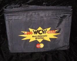 WCW Mastercard Advertising Premium 1990s Portable Vinyl Cooler Bag - $24.99