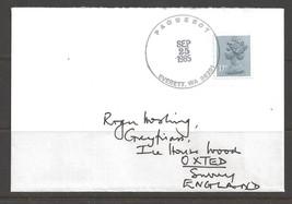 1985 Paquebot Cover, British stamp used in Everett, Washington - $5.00