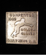 1932 Boxing Glove A.A. medal - antique Dieges & Clust Golden gloves pin ... - $125.00