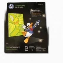 "HP Everyday Glossy Photo Paper (8.5"" x 11"") 50/pk - 2010 - Unopened  - $17.59"