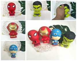Super Hero Iron Man Spiderman Squishies Slow Rising Squeeze Stress Relieve Toys - $0.99+