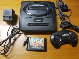 Sega Genesis 2 Launch Edition Black Console - Tested - Sonic - Fast Ship... - $32.73