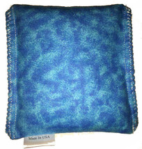 Aqua Blue Marble Pack Hot Cold You Pick A Scent Microwave Heating Pad Re... - $9.99