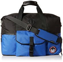Steve Madden Men's overnighter/Duffle Bag, Deep Blue