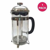 Think Crucial 8 Cup French Press Coffee & Espresso Maker, Brews 1L / 34O... - $28.54