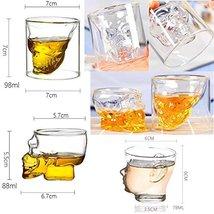 East Majik Creative Crystal Design Beer/Vodka/Wine Cup Set of 3#1 - $43.74