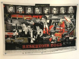 RESERVOIR DOGS Quentin Tarantino Movie Poster Flag Banner Fabric Wall Ta... - $25.11