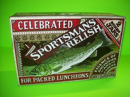 Sportsmans Relish Genuine Vintage British Tin Huntley Booren & Stevens F... - $201.32