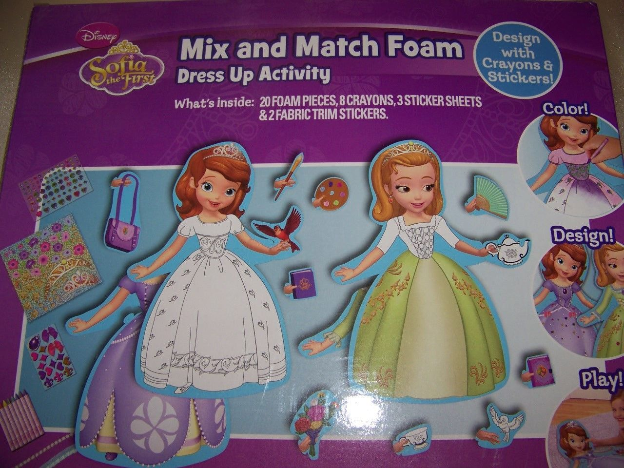 Disney Sofia the First Amber Mix and Match and 50 similar items