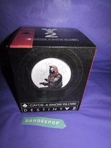 Destiny 2 Limited Edition Cayde-6 Snow Globe New With Box & COA Video Ga... - $44.54