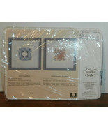 "Creative Circle #2524 Prairie Tracks Needlepoint KIt 5"" x 5"" - $9.74"