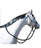 Western Horse Heavy Nylon Cowboy Knot Bitless Bridle Headstall w/ Matchi... - $28.51