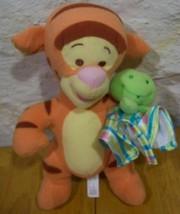 Winnie the Pooh BABY TIGGER RATTLE Plush Stuffed Animal - $15.35