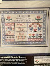 Dimensions Precious Children Sampler Counted Cross Stitch Kit #3609 - $29.99
