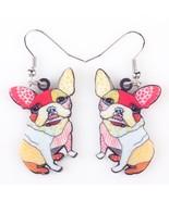 Long Drop Brand Lovely Dog Earrings Acrylic New 2015 Jewelry For Girls W... - $9.19