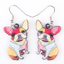 Long Drop Brand Lovely Dog Earrings Acrylic New 2015 Jewelry For Girls W... - $9.19