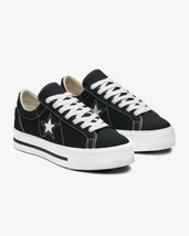 Converse Womens One Star Platform Ox Canvas 564031C DarkObsidian/White V... - $69.99