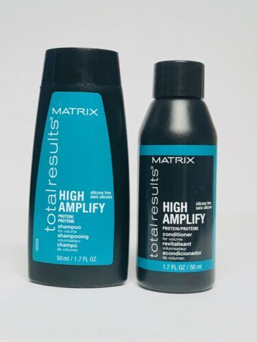 Primary image for Matrix Total Results High Amplify Shampoo & Conditioner Travel Size Lot 1.7oz Ea