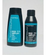 Matrix Total Results High Amplify Shampoo & Conditioner Travel Size Lot ... - $9.49