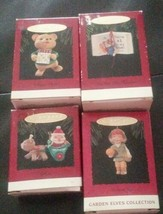 Lot Of 4 Christmas Keepsake Ornaments - $9.90