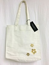 Marc Jacobs Tote Bag Fragrance Bag Off White W Flowers - $4.95