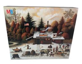 Charlie's Wysocki 1000 Piece Milton Bradley The Vermount Rock Maple Tree... - $14.85