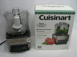 Cuisinart Mini-Prep Food Processor Black Chrome Series 21 Ounce Model DL... - $23.33