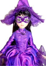 """Woefully Bewitching Ellowyne Wilde 16"""" Doll Tonner Purple Witch + Autumn... - $216.00"""
