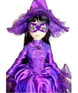 "Woefully Bewitching Ellowyne Wilde 16"" Doll Tonner Purple Witch + Autumn... - $240.00"