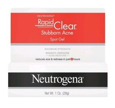 Neutrogena Rapid Clear Stubborn Acne Spot Gel 1 Oz Each NIB Exp 3/23 - $19.95