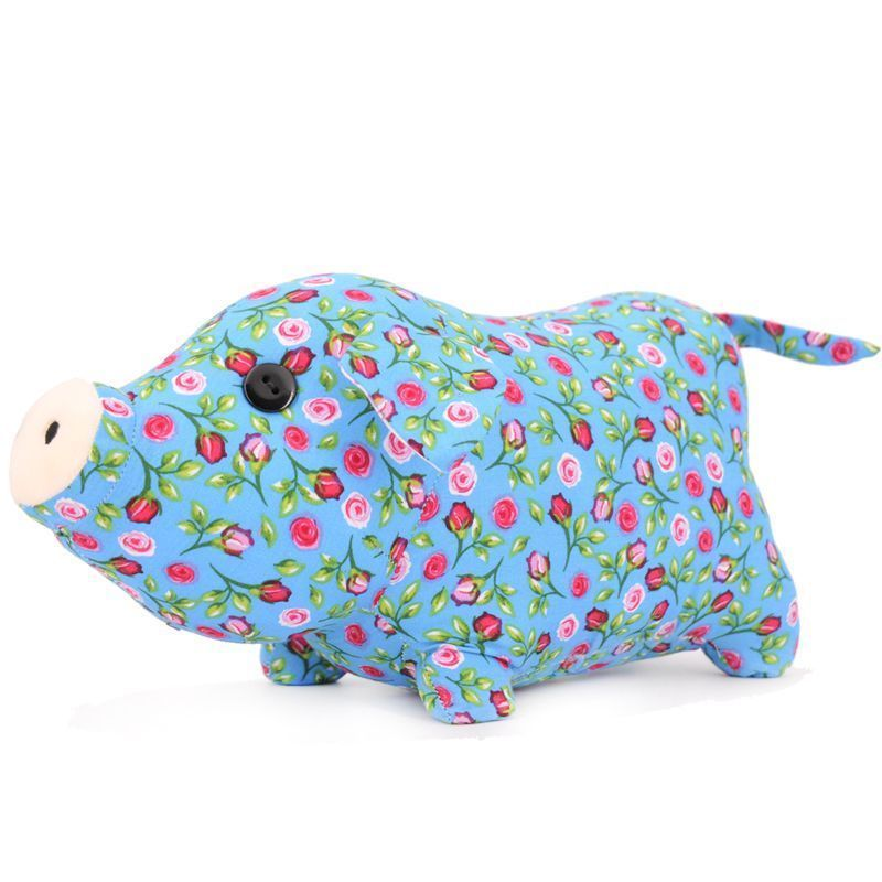 Soft Stuffed Piggy Toy 2019 New Year Symbol Chinese Zodiac Cute Pig Kids Gift