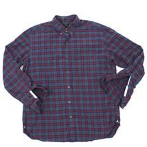J Crew Classico con Bottoni Manica Lunga T-Shirt da Uomo L Plaid Logger ... - $23.63