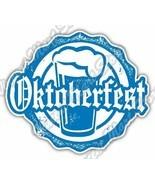 Oktoberfest Beer Germany Munich Grunge Stamp Car Bumper Vinyl Sticker De... - $3.50
