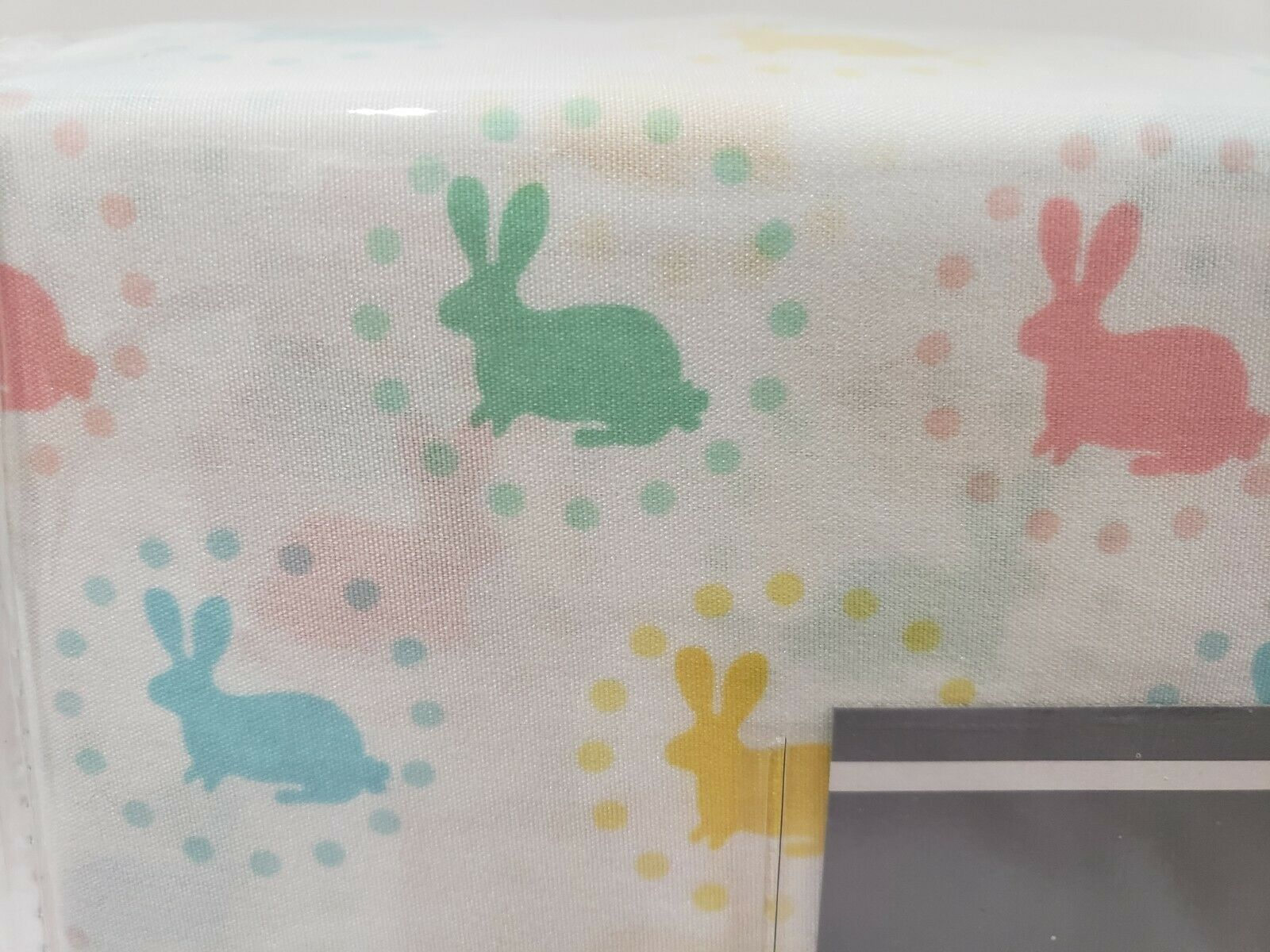 Hotel Collection Easter Bunny Rabbit Pastel Sheet Set FULL Last One!!!