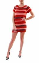 For Love & Lemons Women's Fleetwood Sweater Dress Red RRP $188 BCF68 - $54.73