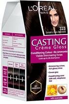 L'Oreal Paris Casting Creme Gloss, Sonam's Dark Chocolate 323, 87.5+72 FREE SHIP - $19.70