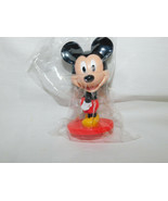 Mickey Mouse Bobble Head Cake Topper Disney 3 Inches Tall NIP - $5.99