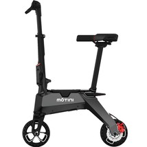 Motini Nano Folding Electric Scooter Weighs 23.5 Lbs 36v 250w Lithium Battery  image 1