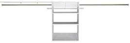RSI 9.5-ft x 3-ft White Wood Closet Kit System Organizer Storage Shelf 2... - $2.138,34 MXN