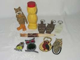 Mixed Lot 10 Owl Collectible 1969 Howland American Sugar Bottle Opener B... - $39.59