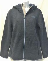 THE NORTH FACE Women's NWOT Gray & Blue Zermatt Full Zip Hoodie Wool Ble... - $85.50